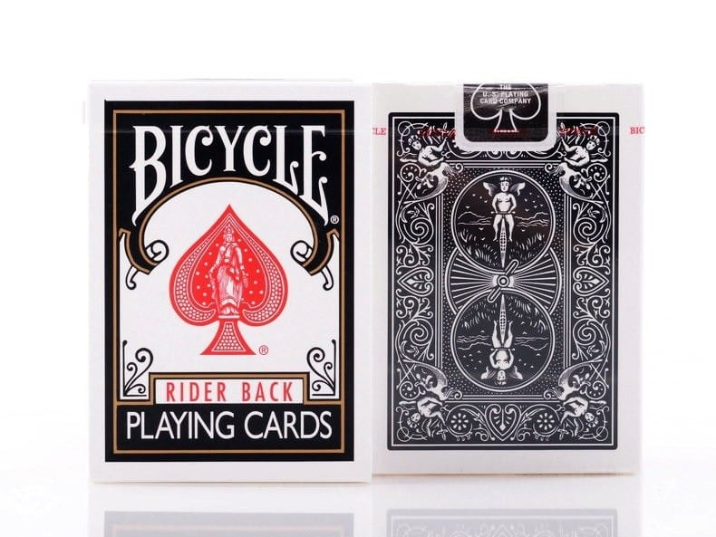 Bicycle Playing Cards--Black Deck