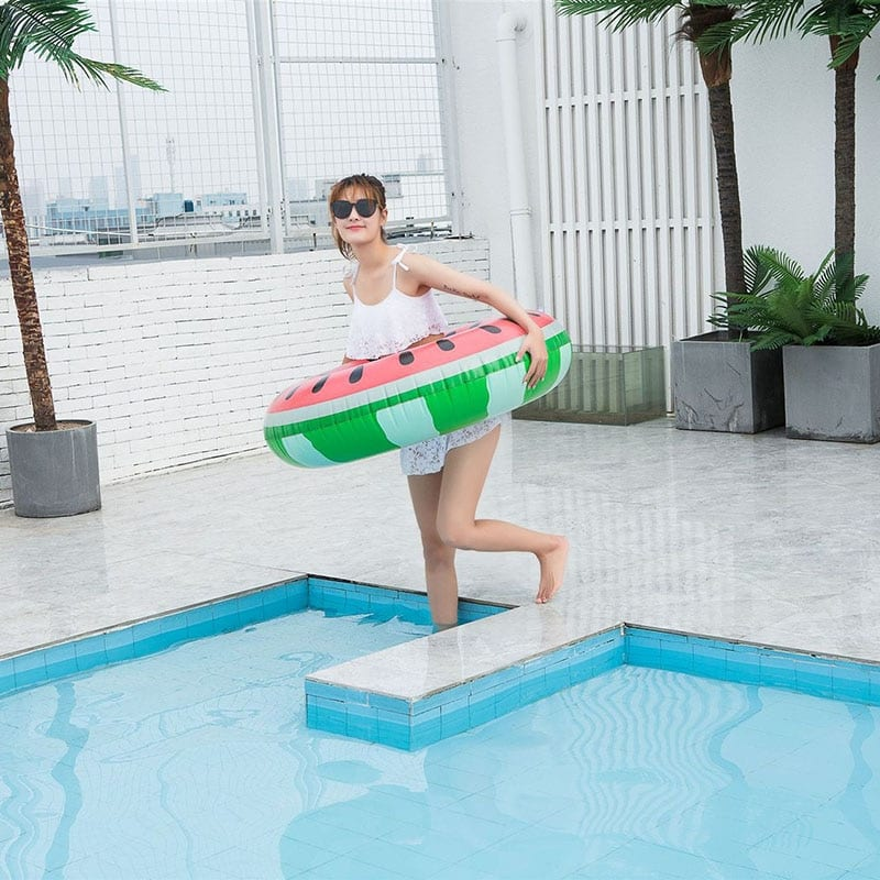 Watermelon Inflatable Pool Ring